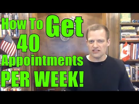 How To Generate More Leads And Get 40 Appointments A Week?