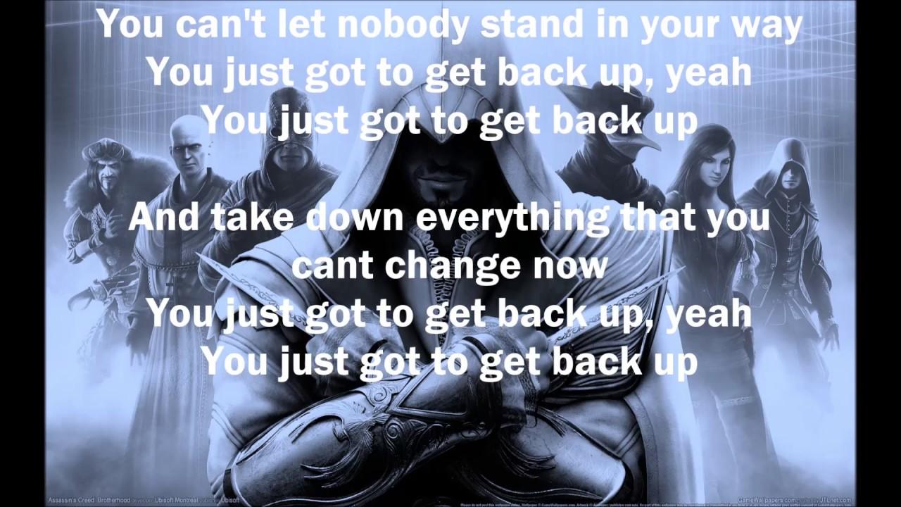 G-Eazy - Get Back Up (Assasin's Creed) (Lyrics) - YouTube
