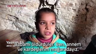 Türkiye TV kanallarında asla göremeyeceğimiz bir Afrin haberi