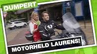 Ontsnappende inbreker klemrijden met motor | DumpertTV Nazorg