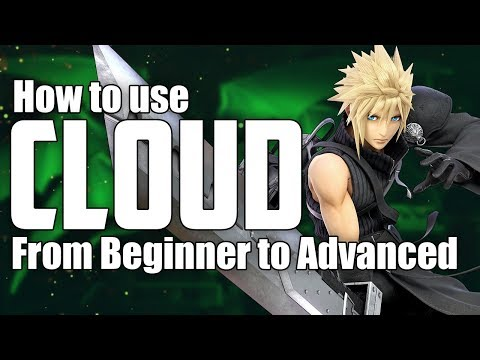 How to Play Cloud from Beginner to Advanced | Comprehensive Guide | Super Smash Bros Ultimate thumbnail