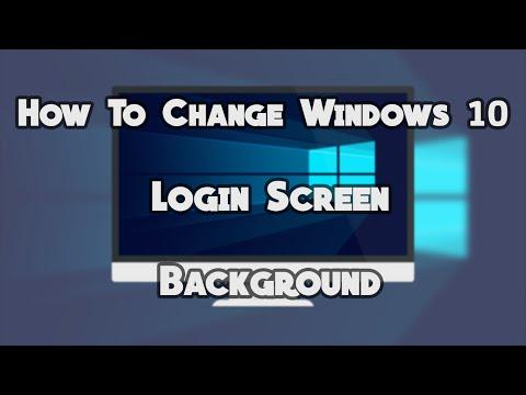 Change Windows 10