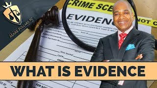 Criminal Defense Attorney: Evidence In A Criminal Case!
