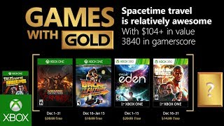 Xbox - December 2017 Games with Gold