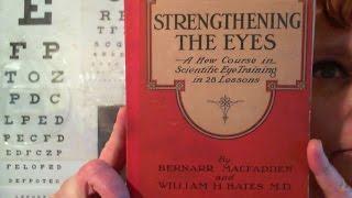 Strengthening The Eyes - Antique Eyesight Improvement Book, Training Course.