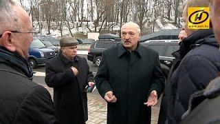 Александр Лукашенко посетил с рабочей поездкой Могилёвскую область