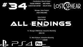 Lost Sphear I Part 34 - ALL Endings & After Credits Cutscenes I PS4 Pro