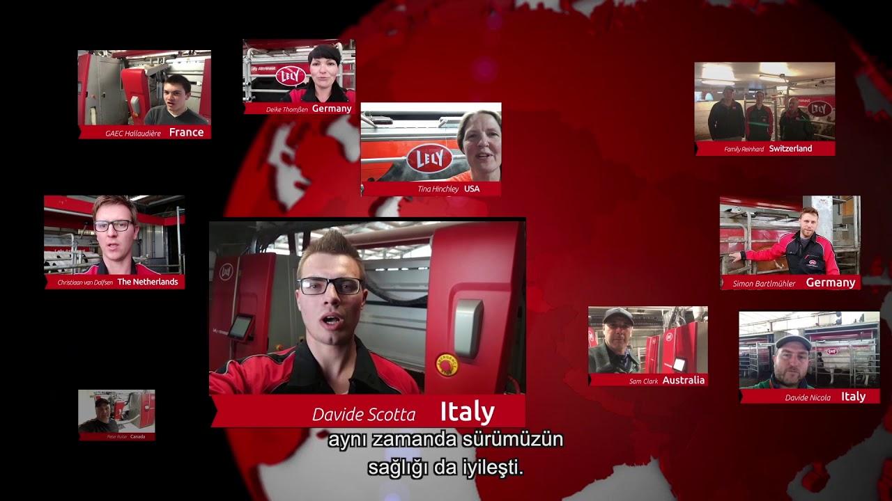 Lely Astronaut A5 – Bir yıllık deneyimler – video 1 (TR)