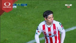 Gol de Víctor Dávila | Necaxa 2 - 0 Cruz Azul | Apertura 2018 - Jornada 9 | Televisa Deportes