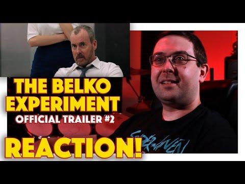 REACTION! The Belko Experiment Official Trailer #2 - James Gunn Written Movie 2017