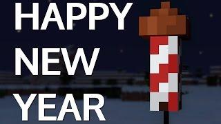 FIREWORKS! [Minecraft Animation] HAPPY NEW YEAR!