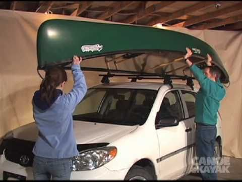 Virtual Coach How To Transport Your Canoe Youtube
