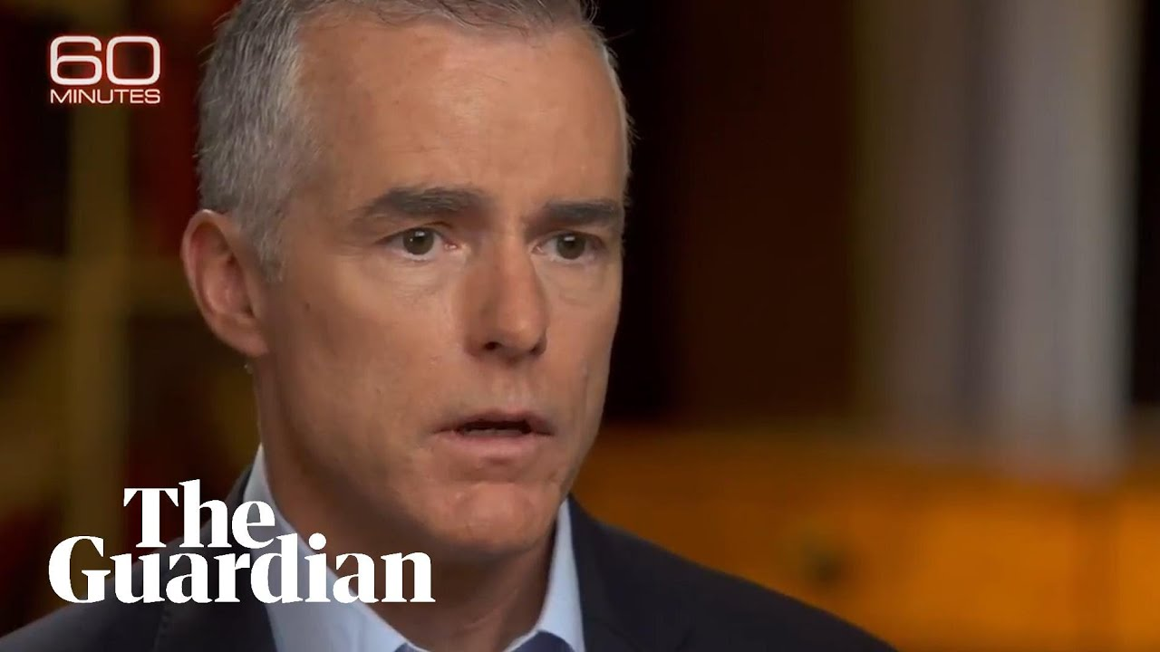 Andrew McCabe claims Trump believed Putin over US intelligence
