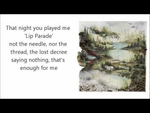 Bon Iver- Holocene w/Lyrics