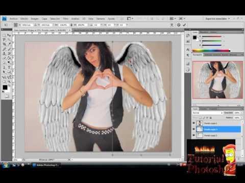 Fotomontajes para poner alas de angel 22