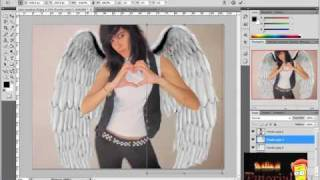 Tutorial photoshop(como poner alas de angeles.)