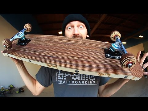 Thumbnail: EPIC LASER CUT SKATEBOARD AND WHEELS | YOU MAKE IT WE SKATE IT EP 69