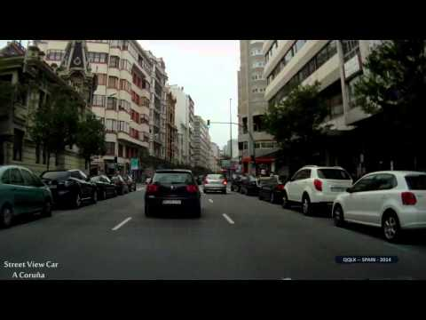 QQLX 0226 SPAIN   A Coruna   Street View Car 2014