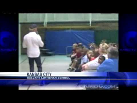 KMBC Visits Calvary Lutheran School