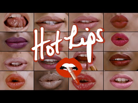 Hot Lips Lipstick : 12 Shades Inspired By Celebrities | Charlotte Tilbury