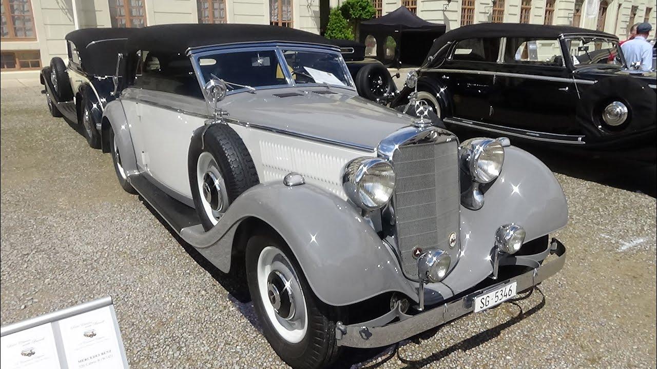1937 mercedes benz 320 cabrio b retro classics meets. Black Bedroom Furniture Sets. Home Design Ideas