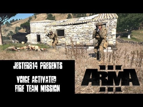 ArmA 3 Alpha Single Player Gameplay - Operation Green and Black with Voice Commands