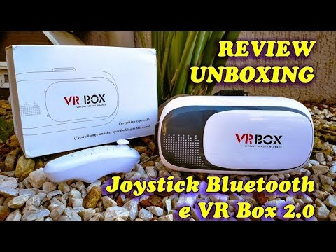 Unboxing e Review do VR Box 2.0 (Óculos de Realidade Virtual) e Controle  Bluetooth e368b6cccb