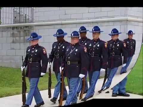 2016 mississippi highway patrol honor guard movie youtube