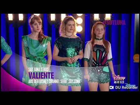 Soy Luna 1 season,song Valente~Open Muzic!