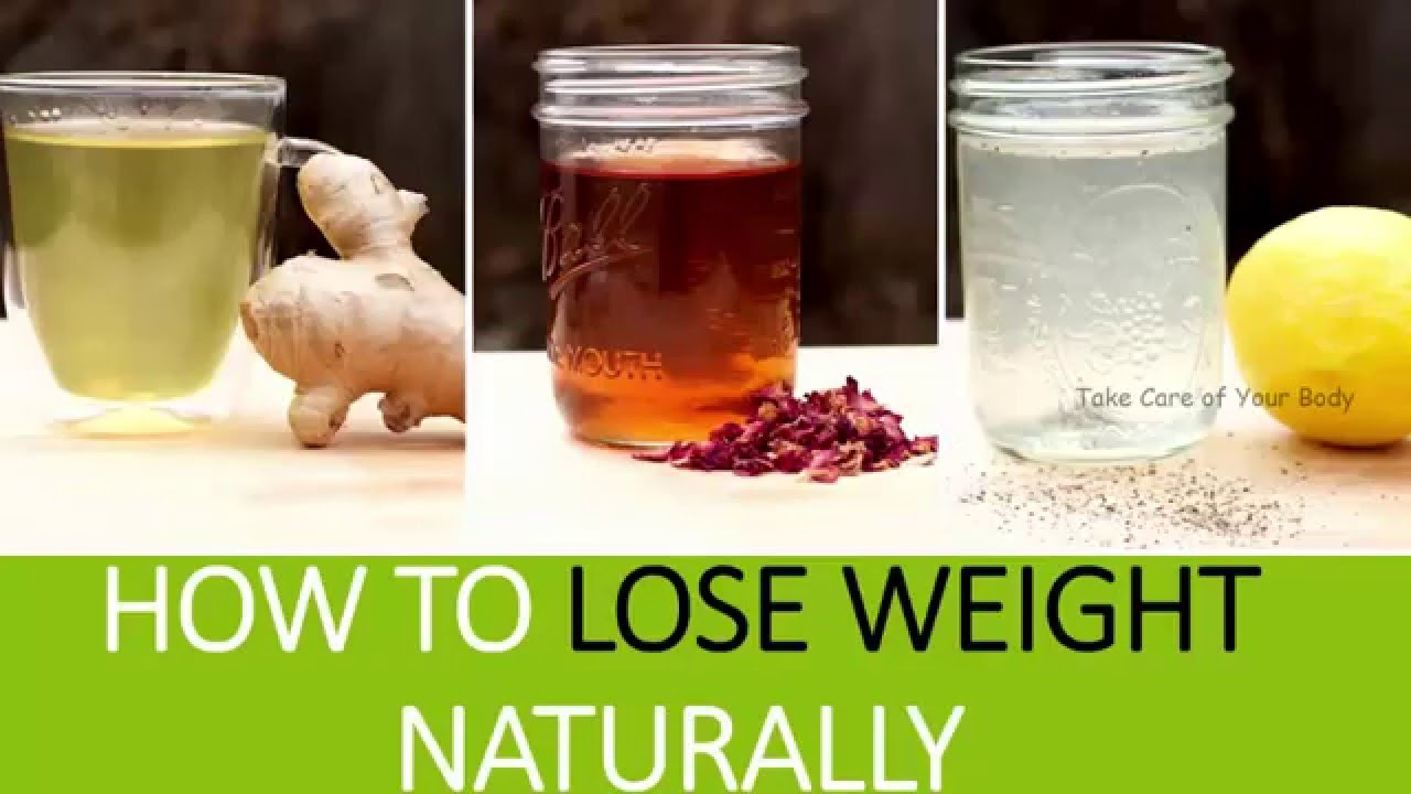natural way to lose weight fast at home