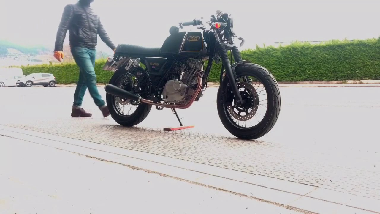 Mash Black Seven Cafe Racer