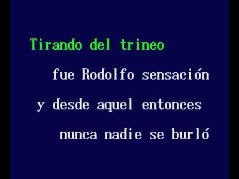 Rodolfo El Reno (karaoke navideño)