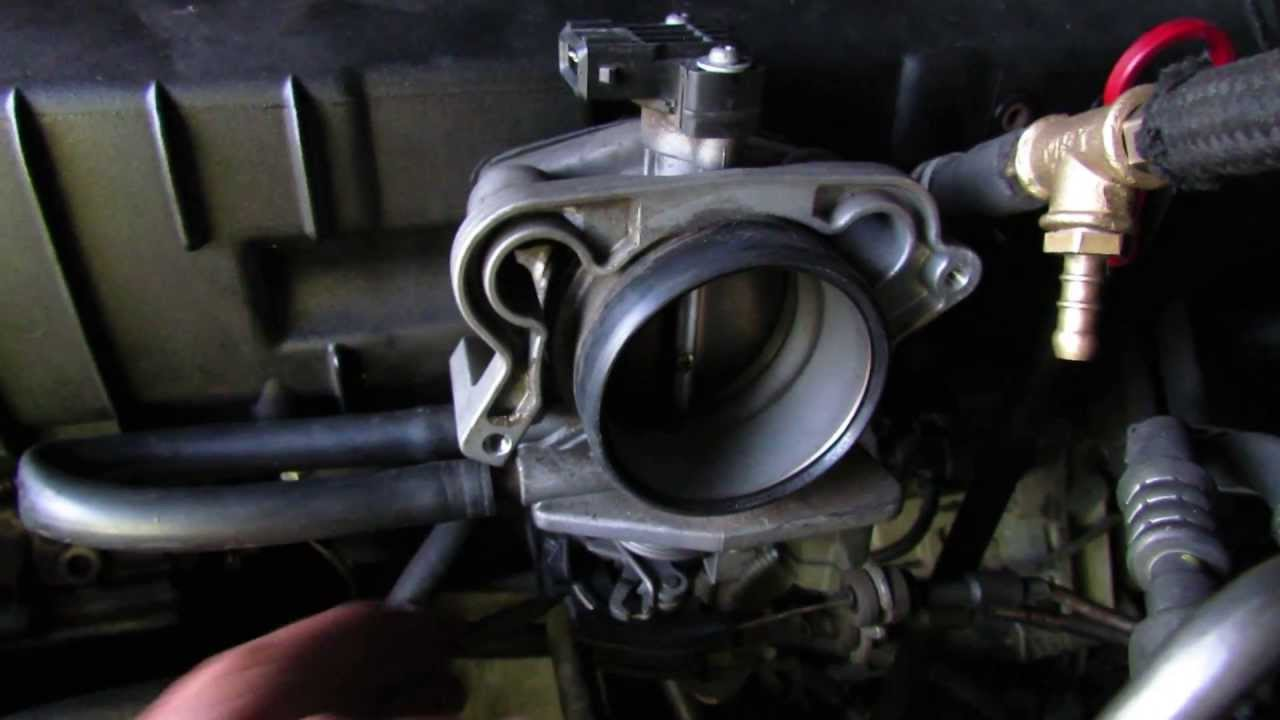 Bmw M52 Main Throttle Body Youtube