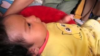 Flavia Mikeyla sus primeras palabras 2 mesecitos