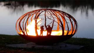 Gambar cover Metal Fire Pit Designs and Outdoor Setting Idea