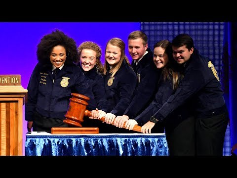 Election of the 2017-18 National FFA Officer Team