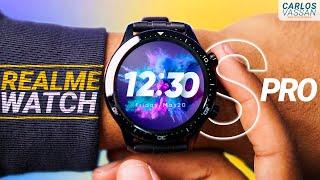 Realme Watch S Pro | Pantalla AMOLED al límite: Review en Español
