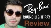 Óculos de Sol Ray-Ban Round RB4243 6224 13 49 - YouTube 67bc8e9fad