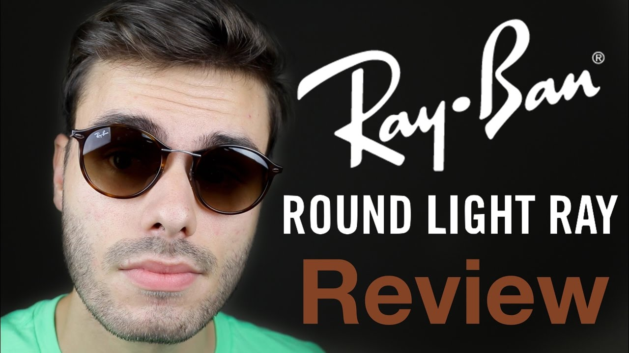 9bf9e835c1 Ray-Ban Round Light Ray Review - YouTube