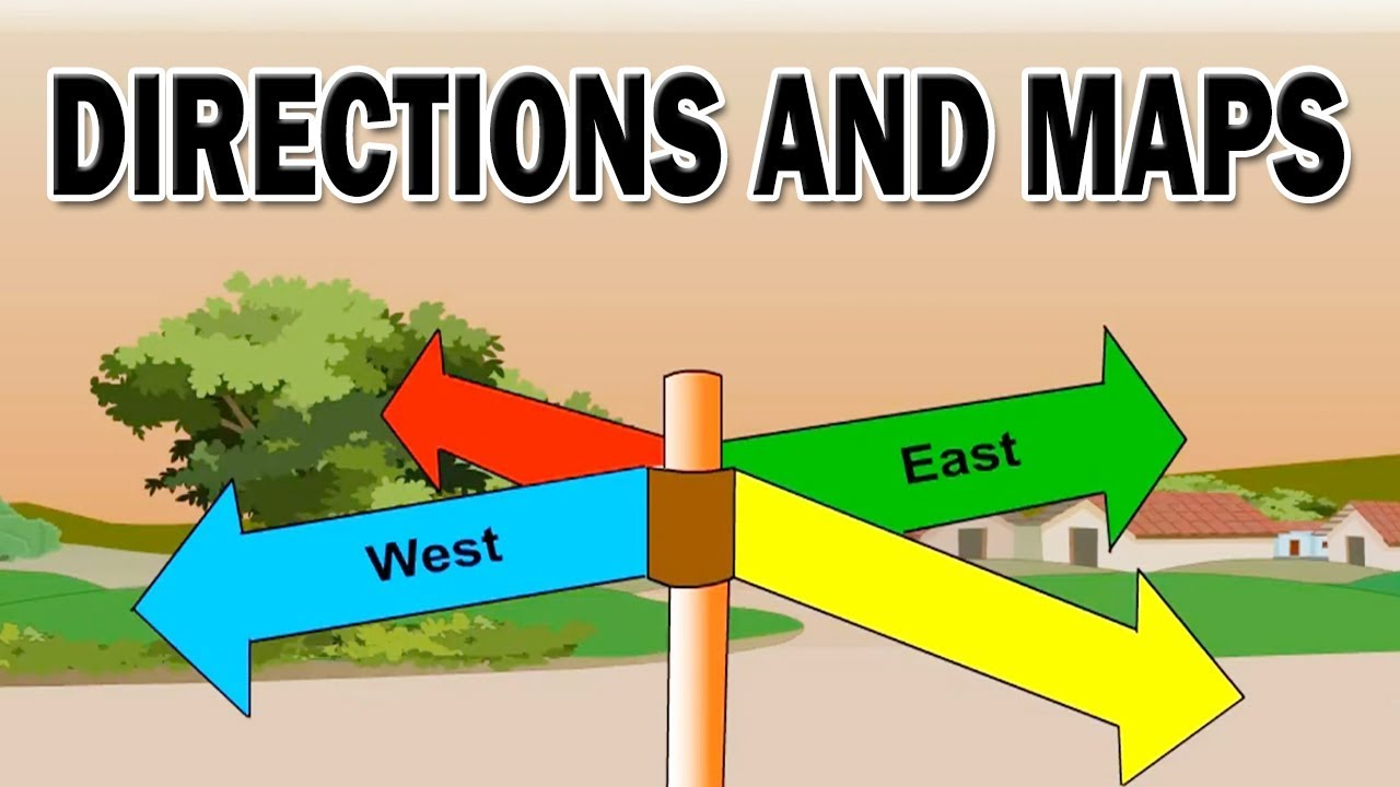 Class 3 | Directions and Maps | EVS | English Medium | Maharashtra State  Board | Home Revise