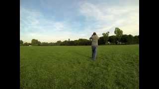 """Lancer du boomerang """" Way Over the Hill """" Bois de Boulogne - Paris"""