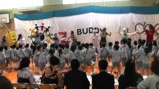 バディ世田谷の謝恩会パパダンス2015 妖怪ダンス!!