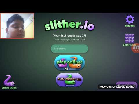 We found the code in slither .io(IT WORKED!!)