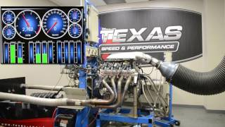 LS3 Dyno Testing on Prototype TSP Cam and 260 CC Heads