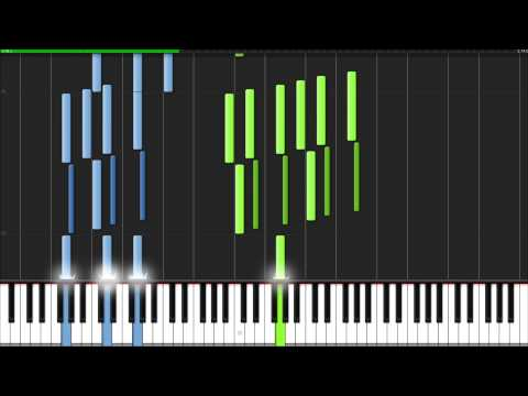 The Avengers Assemble - The Avengers Main Theme [Piano Tutorial] (Synthesia)