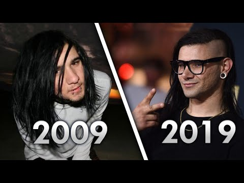 How Skrillex Music Has Changed Over Time (2009- 2019)