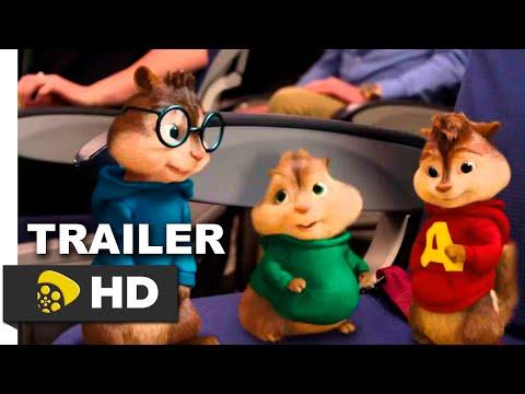 Alvin Y Las Ardillas׃ Aventura Sobre Ruedas Trailer [HD] Español Latino