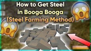 Cách Lấy STEEL BAR Trong Roblox Booga Booga!!!