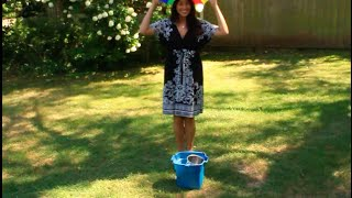 How to do the Ice Bucket Challenge. In the Hamptons New York.