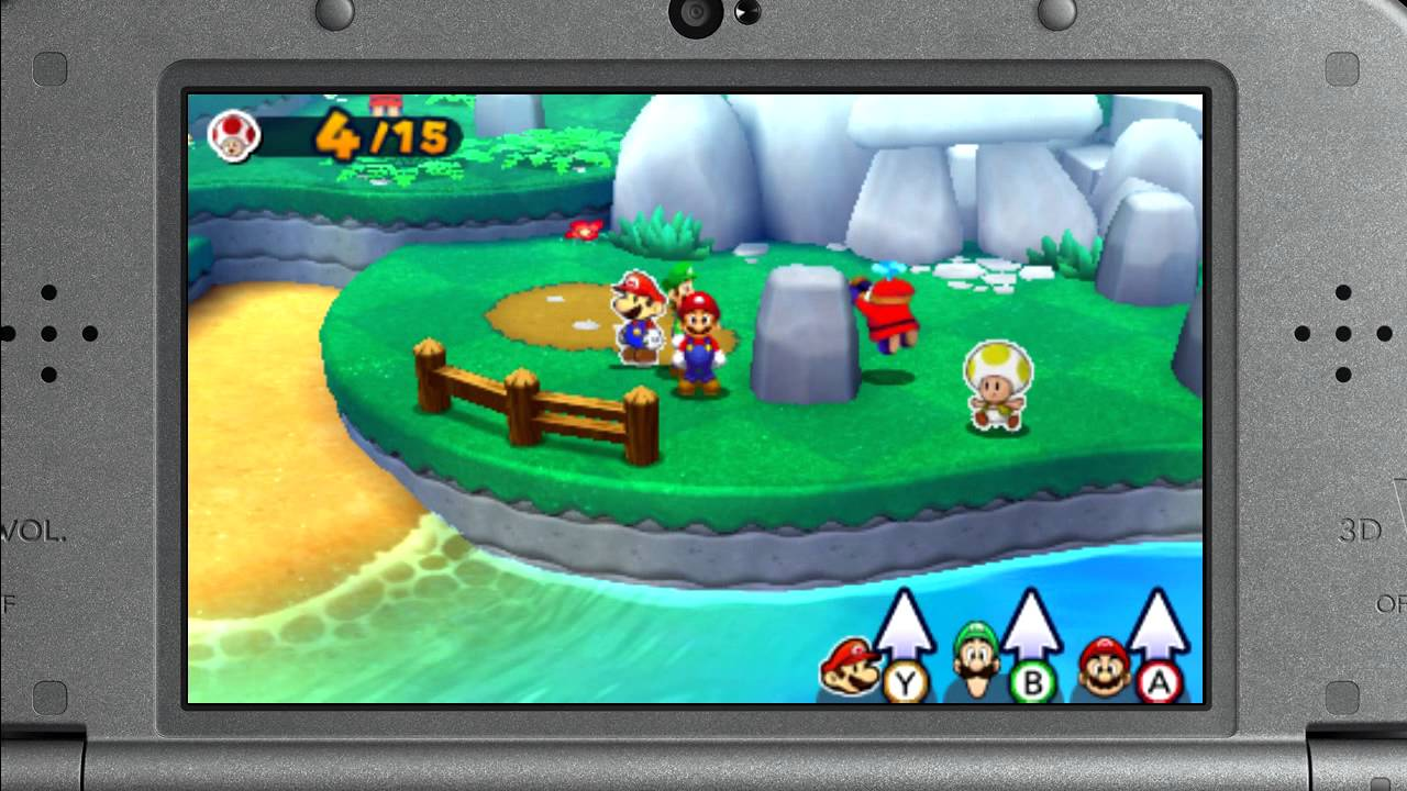 Mario Luigi Paper Jam Shy Guy Stealth In Quest 3 Direct Feed E3 2015